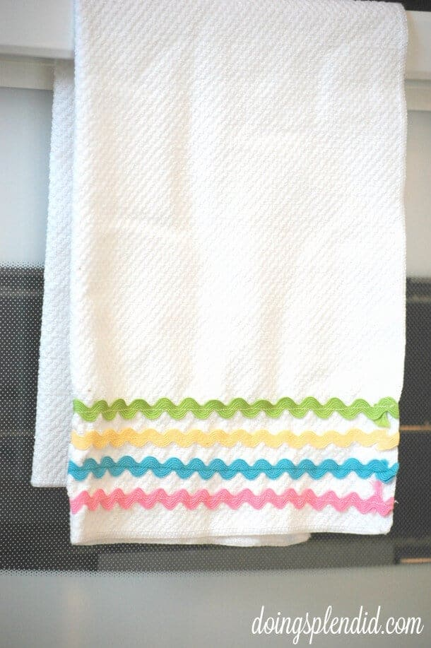 Ric Rac Dish Towel by Doing Splendid