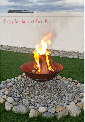 DIY Fire Pit by Kleinworth & Co.