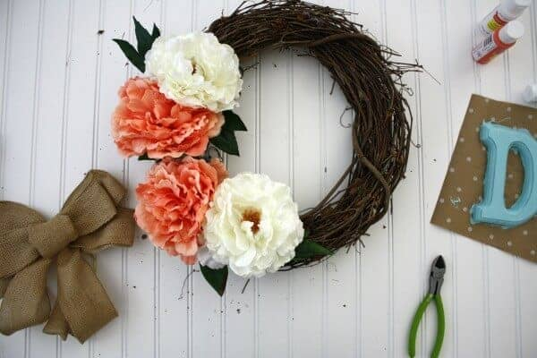 Spring Wreath by Life Anchored