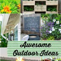 Awesome Outdoor Ideas featured on Princess Pinky Girl