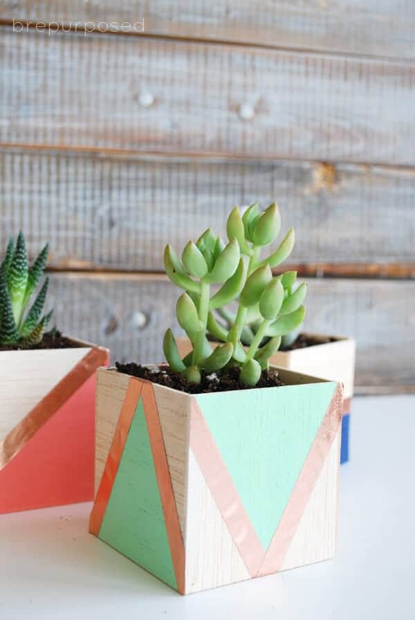 Balso Wood Planters by B Repurposed