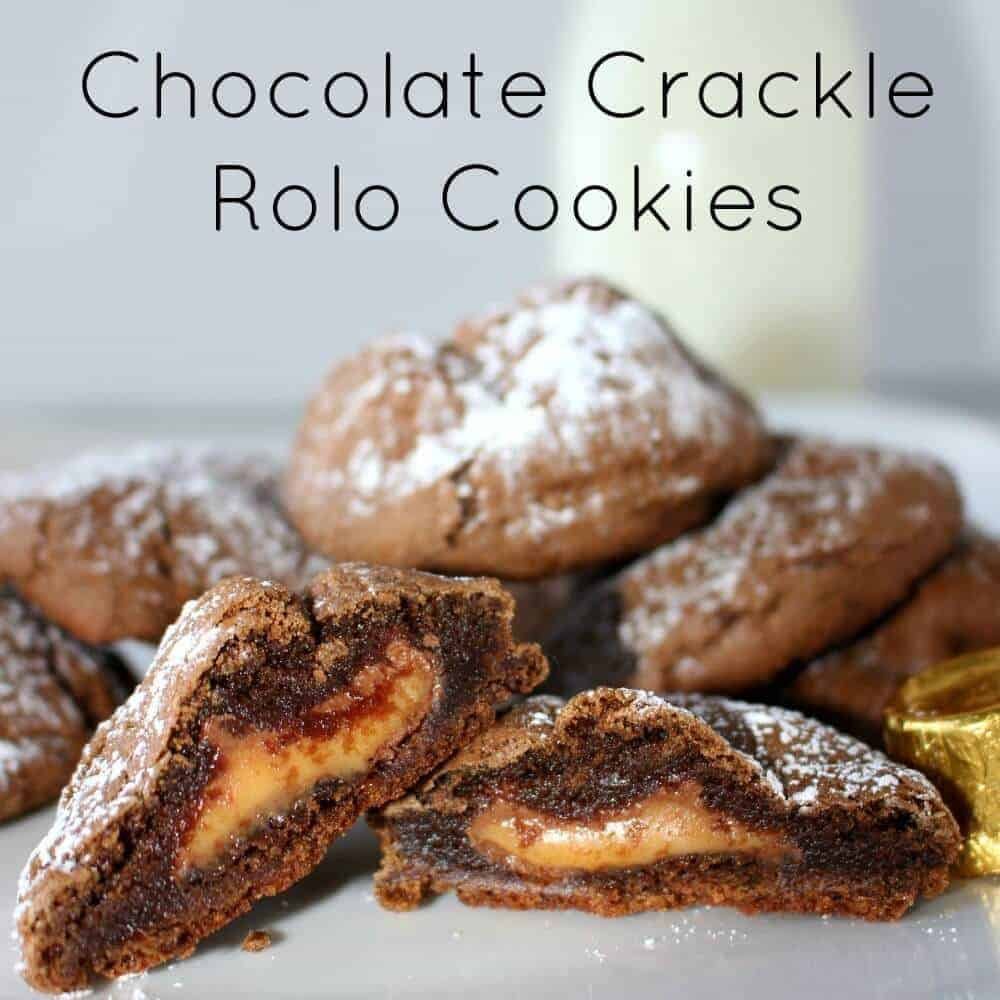 rolo cookies square