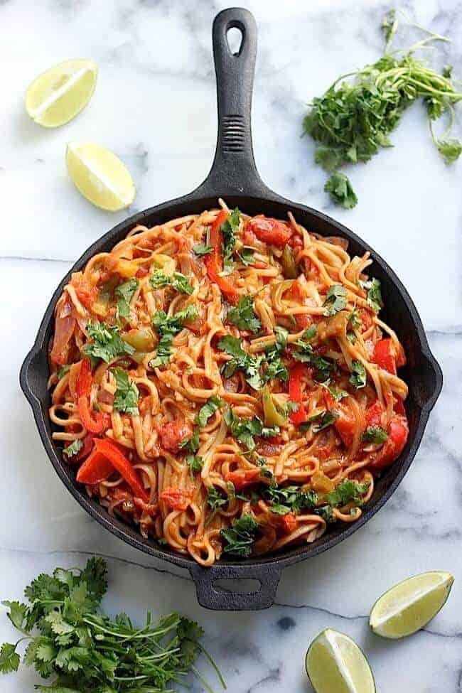 skinny_one_pan_veggie_fajita_pasta