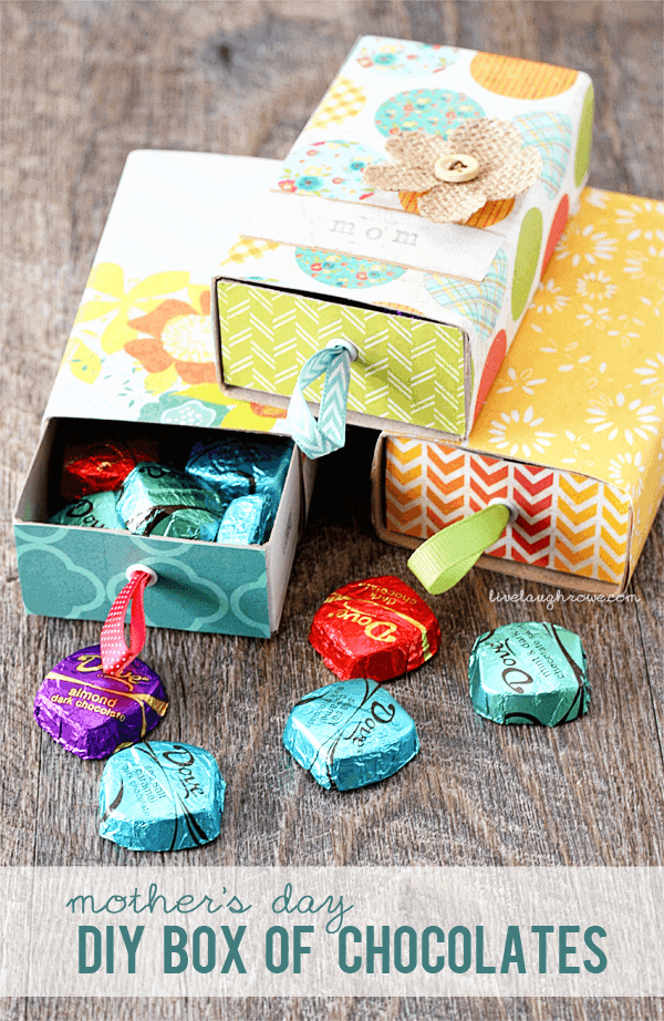 DIY Box of Chocolates by Live Laugh Rowe