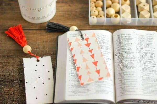 Fabric Bookmark by The Casual Craftlete