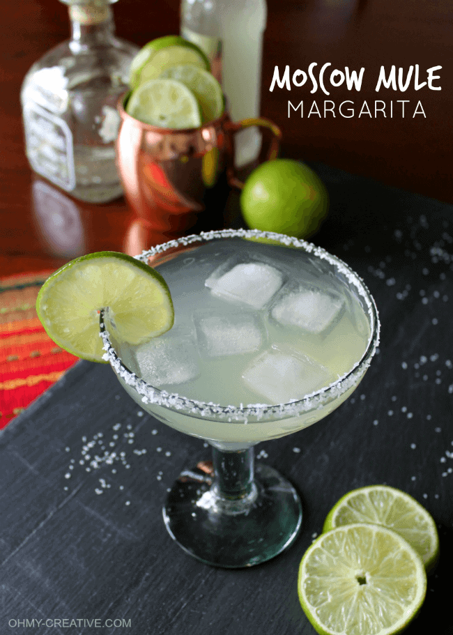 Moscow Mule Margarita by Oh My Creative