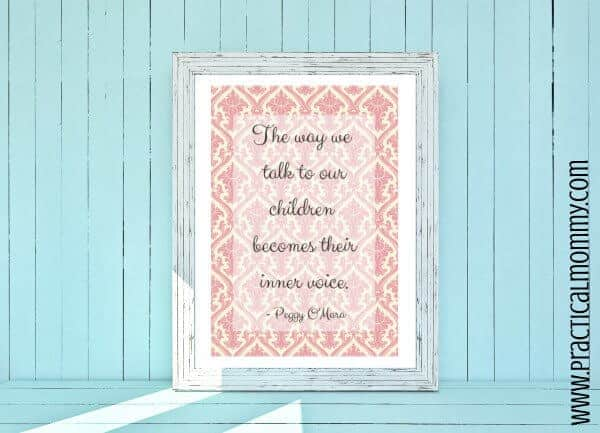 Printable Mothers Day Quote by Practical Mommy