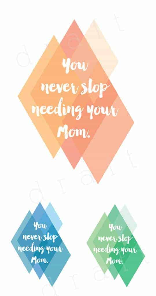 Mothers Day Prints by Delineate Your Dwelling
