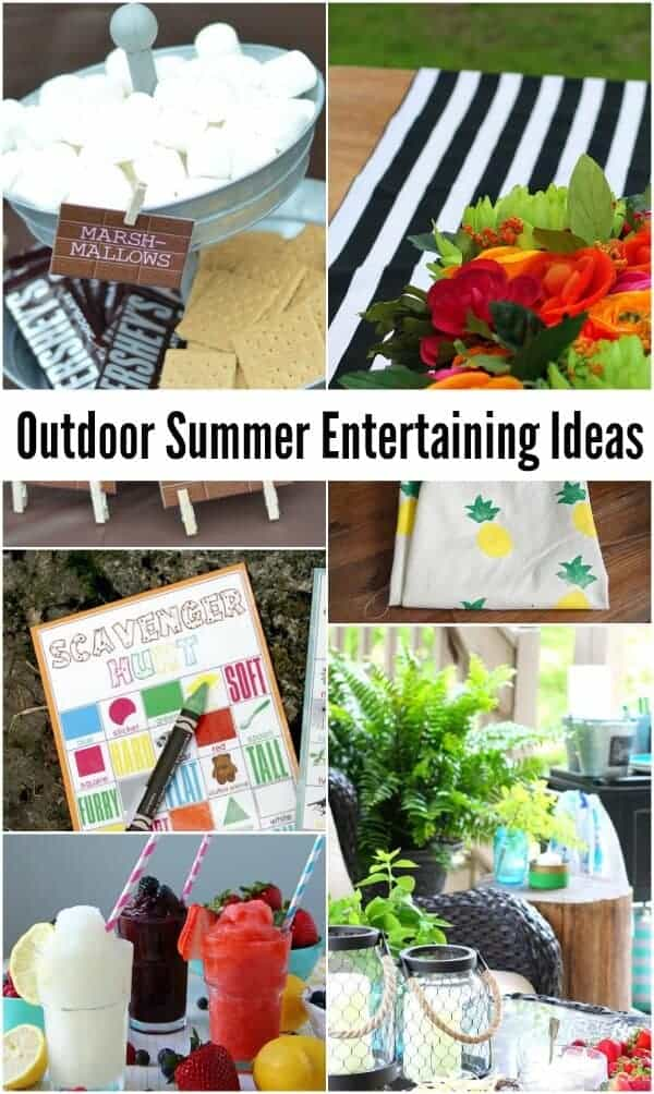 Outdoor Summer Entertaining Ideas