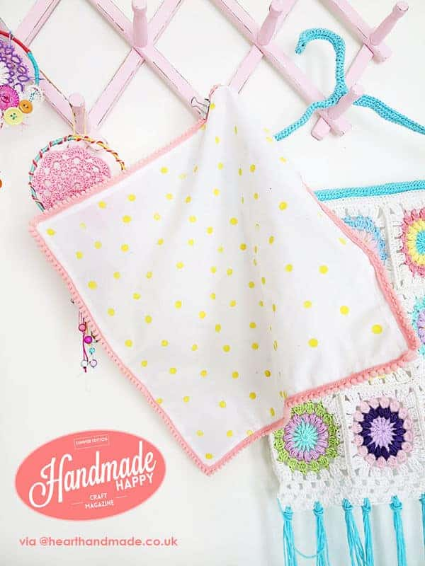 Polka Dot Trim Napkins by Hearth and Made