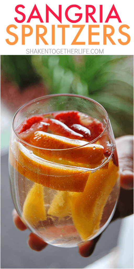 Sangria Spritzers by Shaken Together