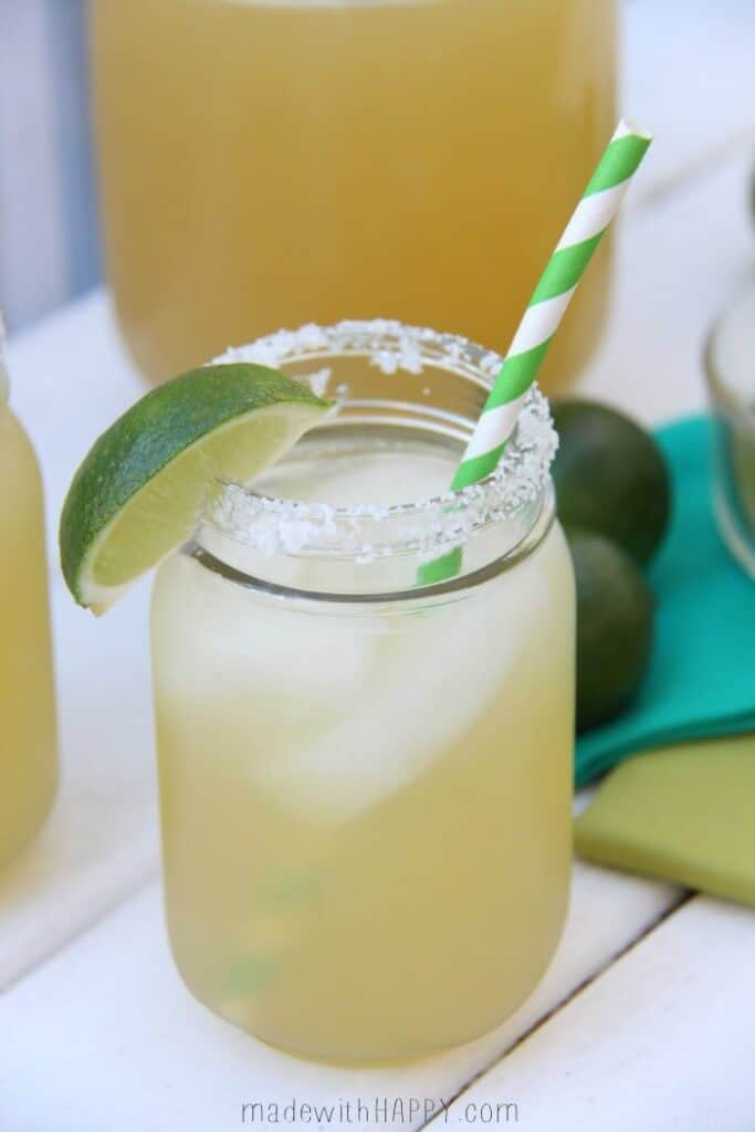 Three Ingredient Margaritas by Made with Happy