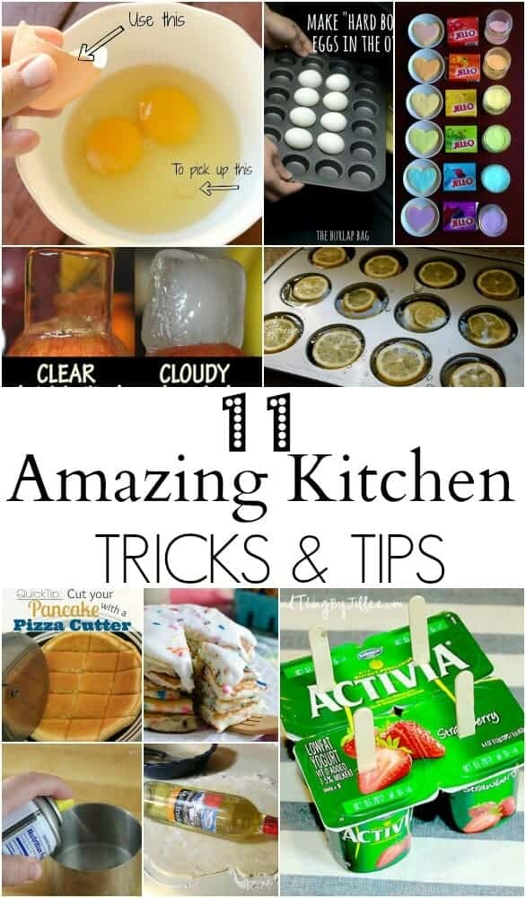 kitchen tips and tips - such great ideas I never knew about