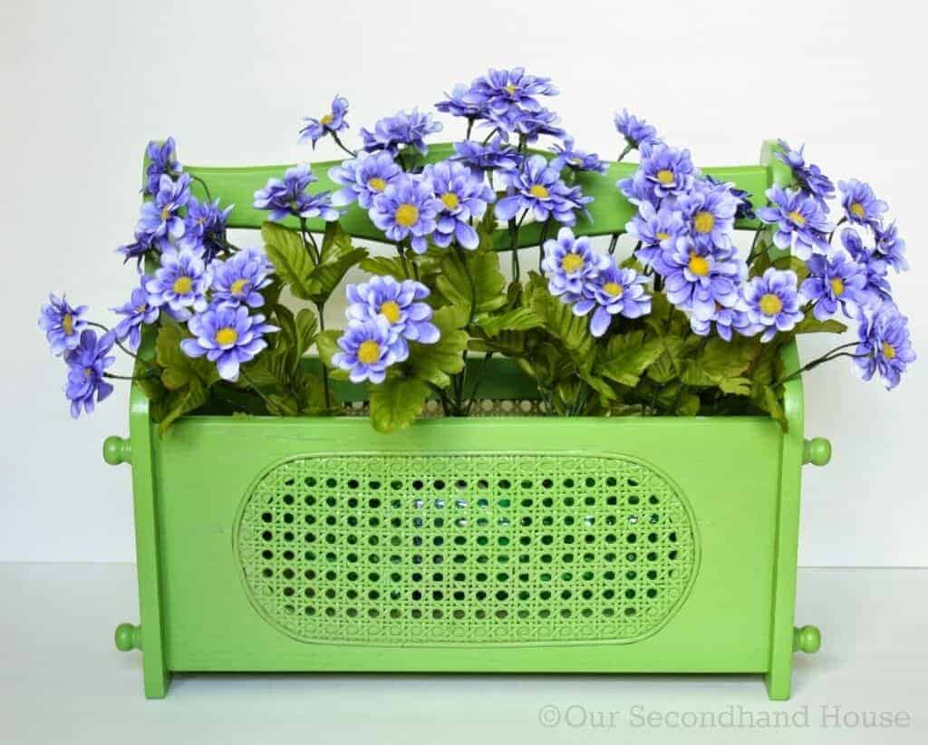 Magazine Holder Flower Planter by Our Secondhand House