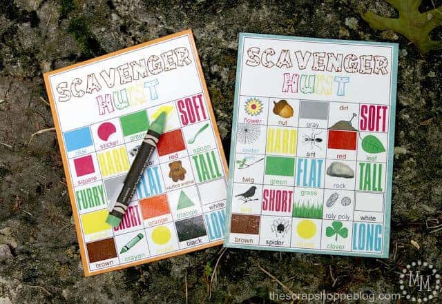 Scavenger Hunt by The Scrap Shoppe