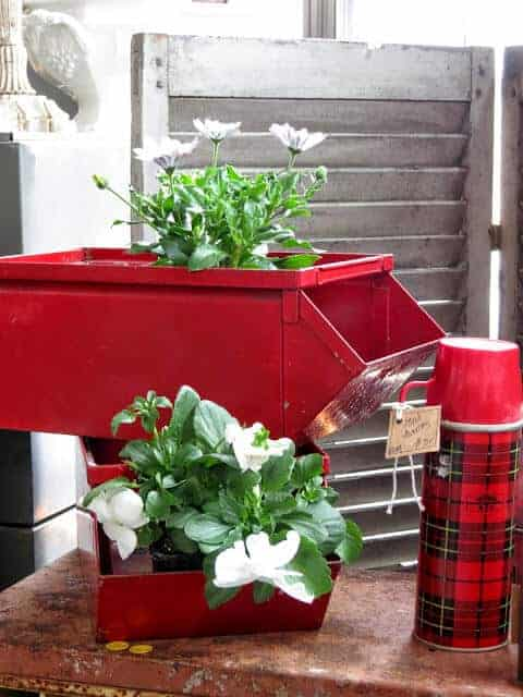 vintage garden ideas by While I linger