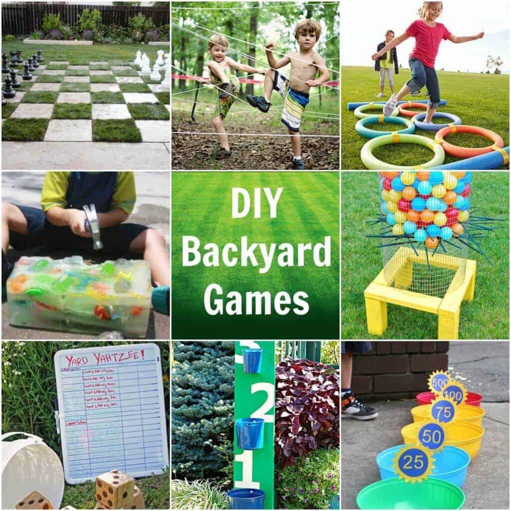 Backyard games featured