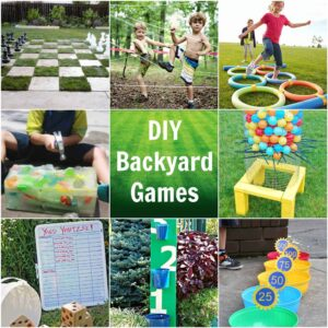 Backyard games featured