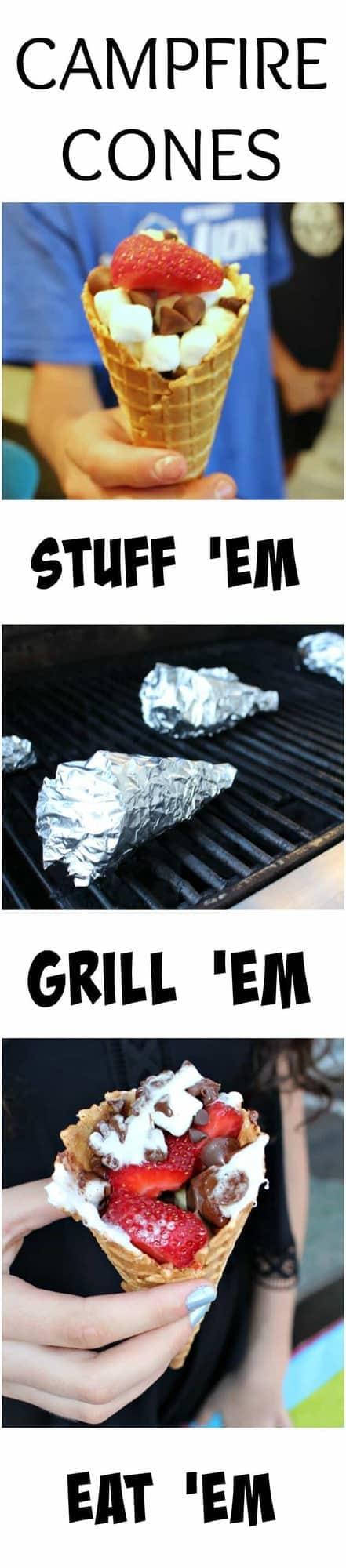 Campfire Cones! Stuff-Grill-Eat