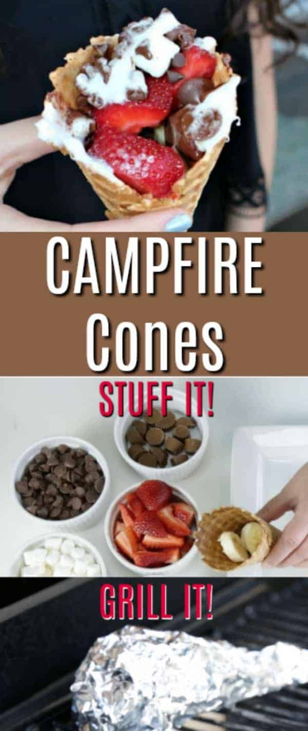 Campfire Cones - the perfect camping recipe