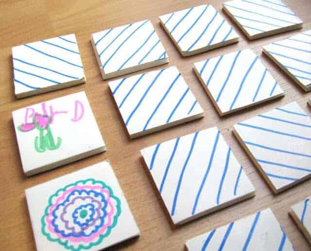DIY Memory Game by CRAFT