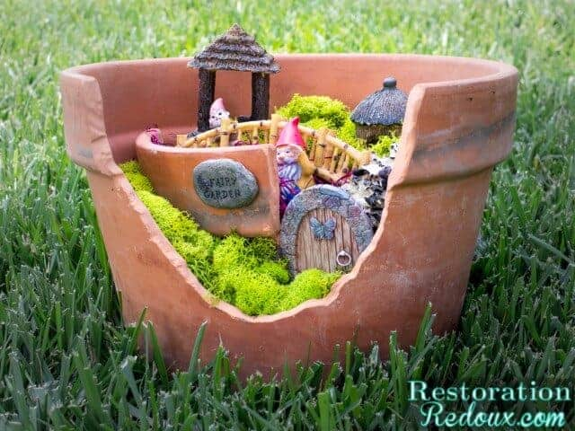 Fun summer craft ideas for kids page 2 of 2 princess for Craft ideas for fairy gardens