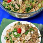 Greek Chicken Spaghetti