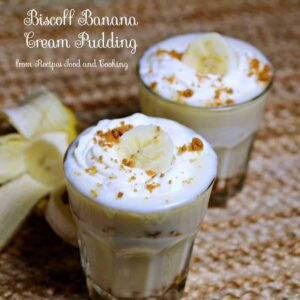 Biscoff Banana Cream Pudding