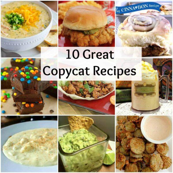 Great Copycat Recipes!