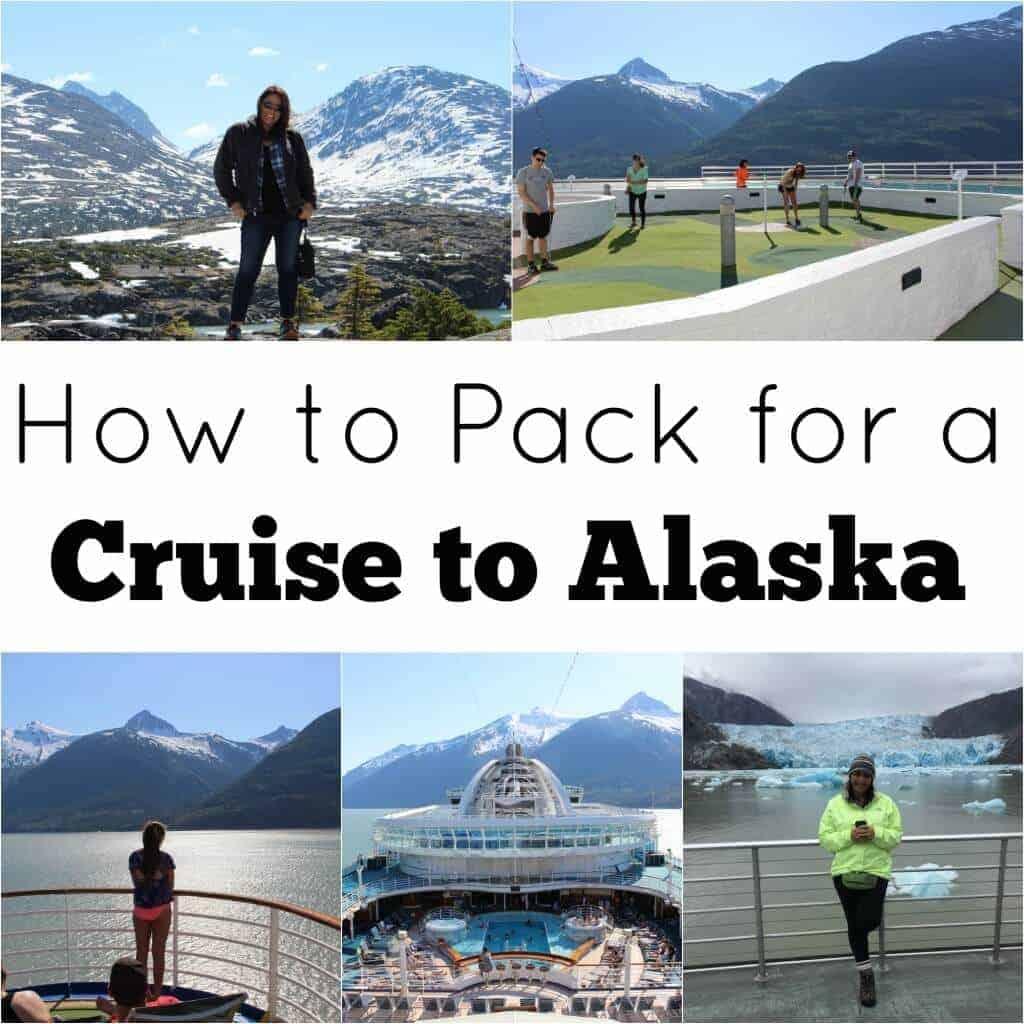 Alaska Cruise Packing List Princess Pinky Girl