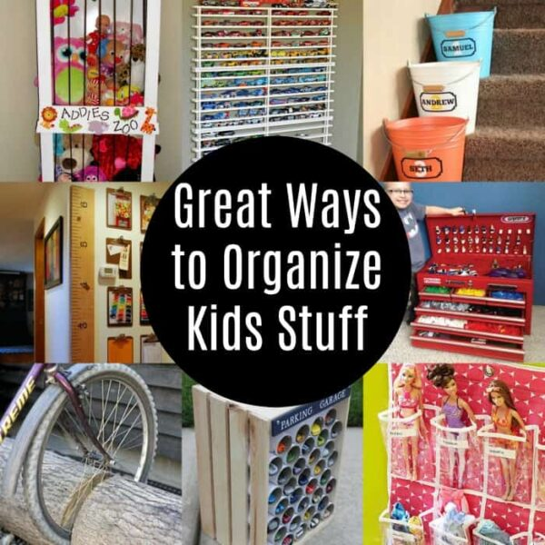 Great ways to organize kids stuff