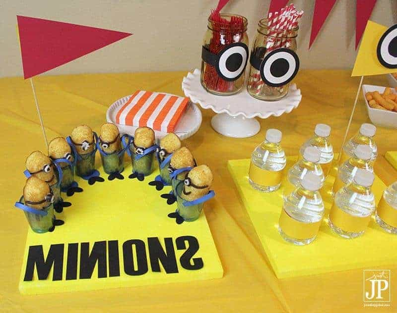 MInions Birthday Party from SmoothFoam