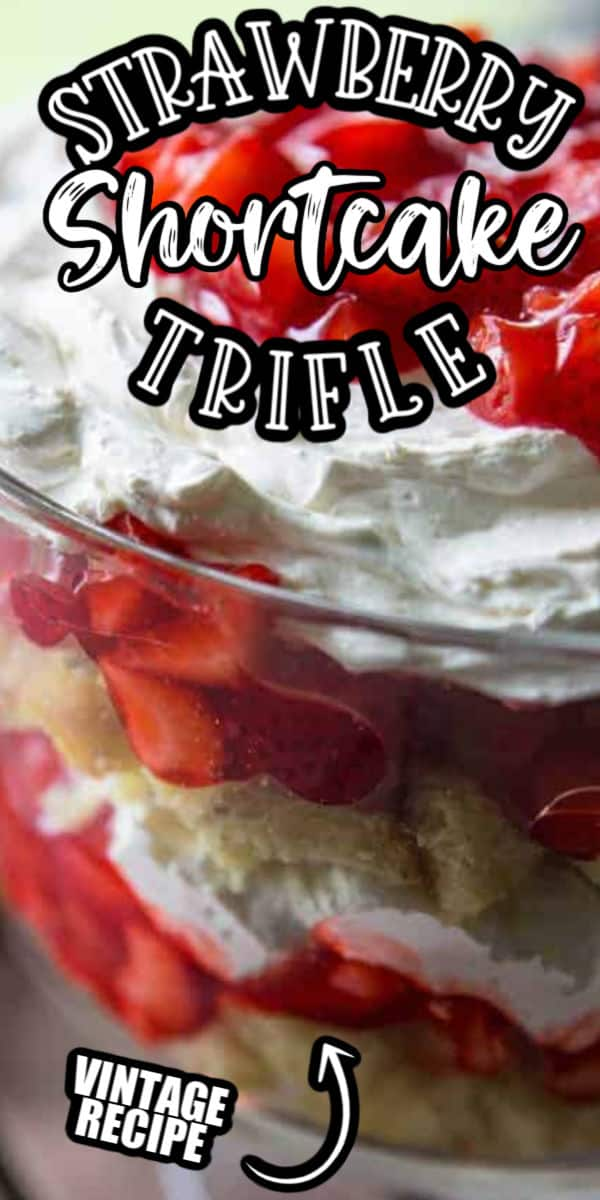 Strawberry Shortcake Trifle pinterest