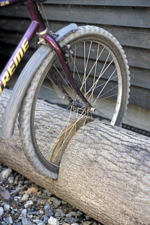 DIY Trunk Bike Rack