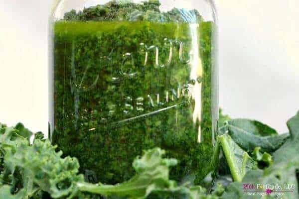 Vegan Kale Pesto by Pink Fortitude