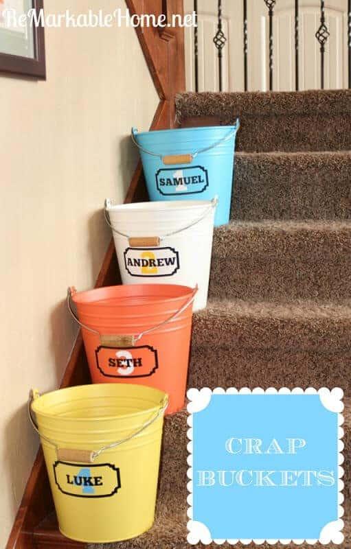 DIY Crap Buckets