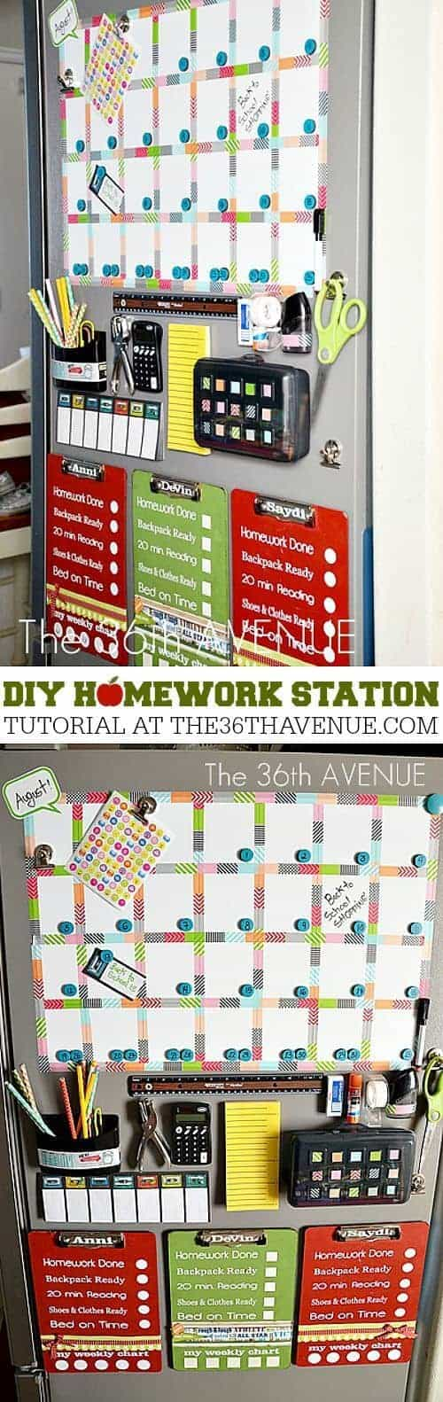 diy-homework-station-at-the36thavenuecom-