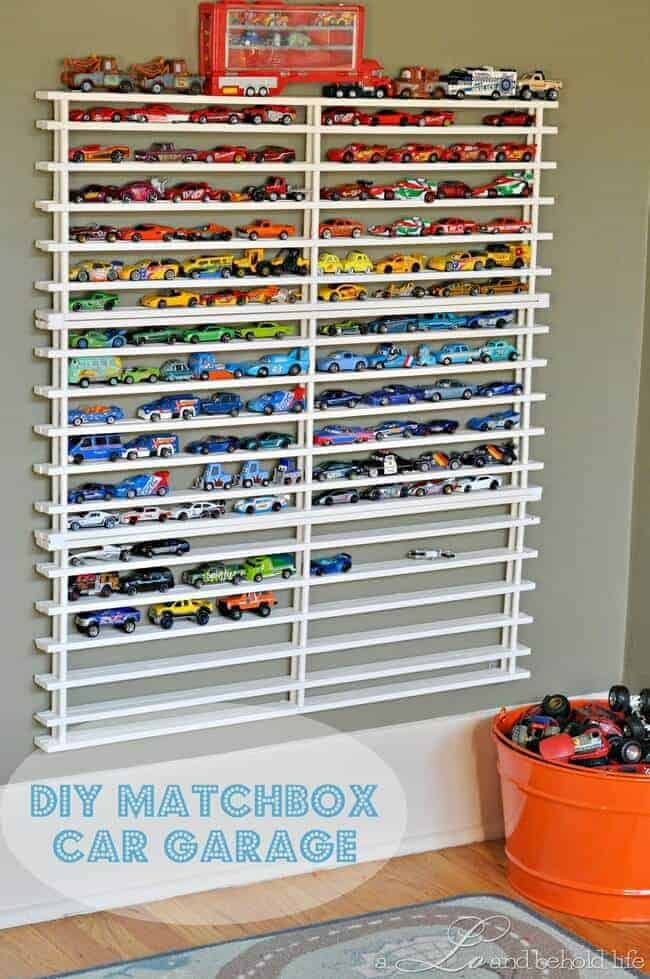 Diy Toy Car Holder : Clever ways to organize kids stuff page of