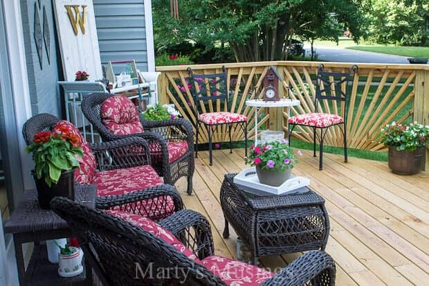 front deck by Marty's Musings