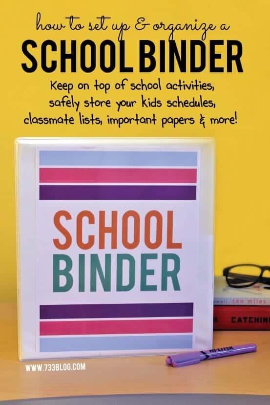 school-binder