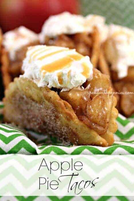 Apple Pie Tacos by Spend with Pennies