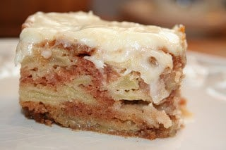 German Apple Cake by Passionate Pastry