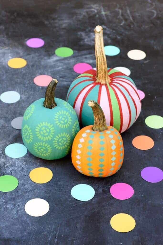 Patterned Pumpkins by Handmade Charlotte