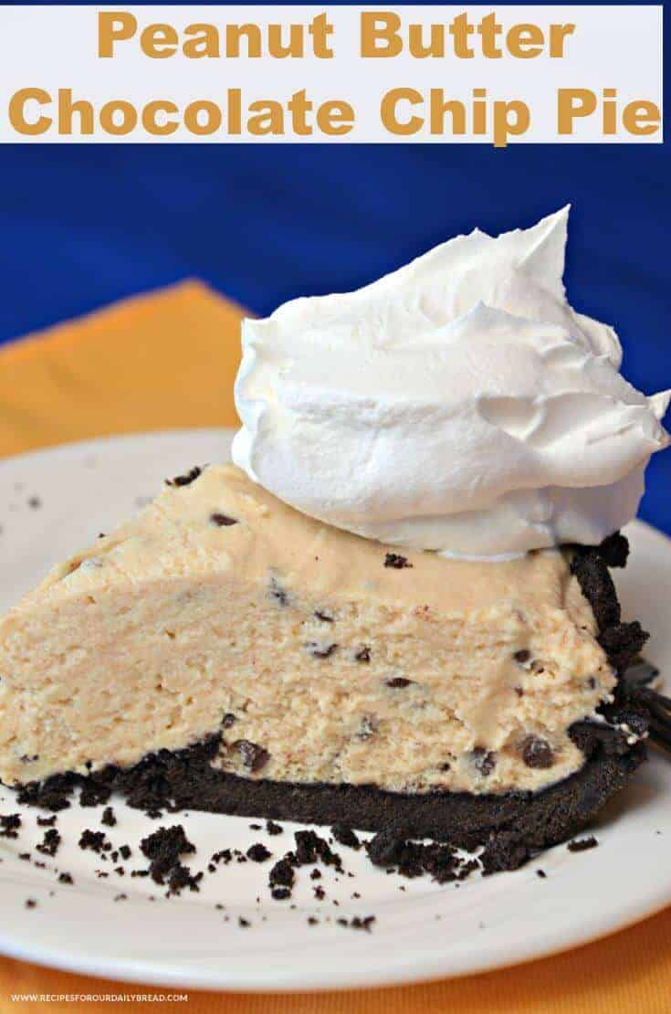 Peanut Butter Chocolate Chip Pie 6
