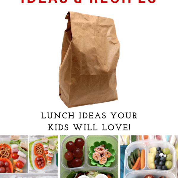 School Lunch Ideas and recipes featured on Princess Pinky Girl