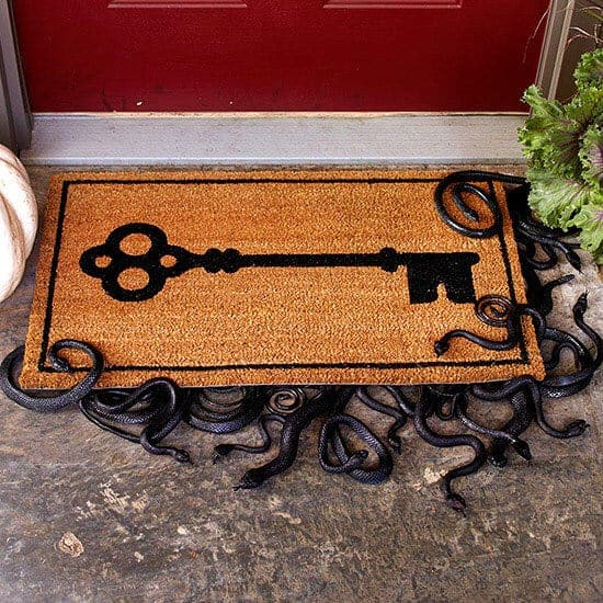 slithering snake doormat featured on BHG