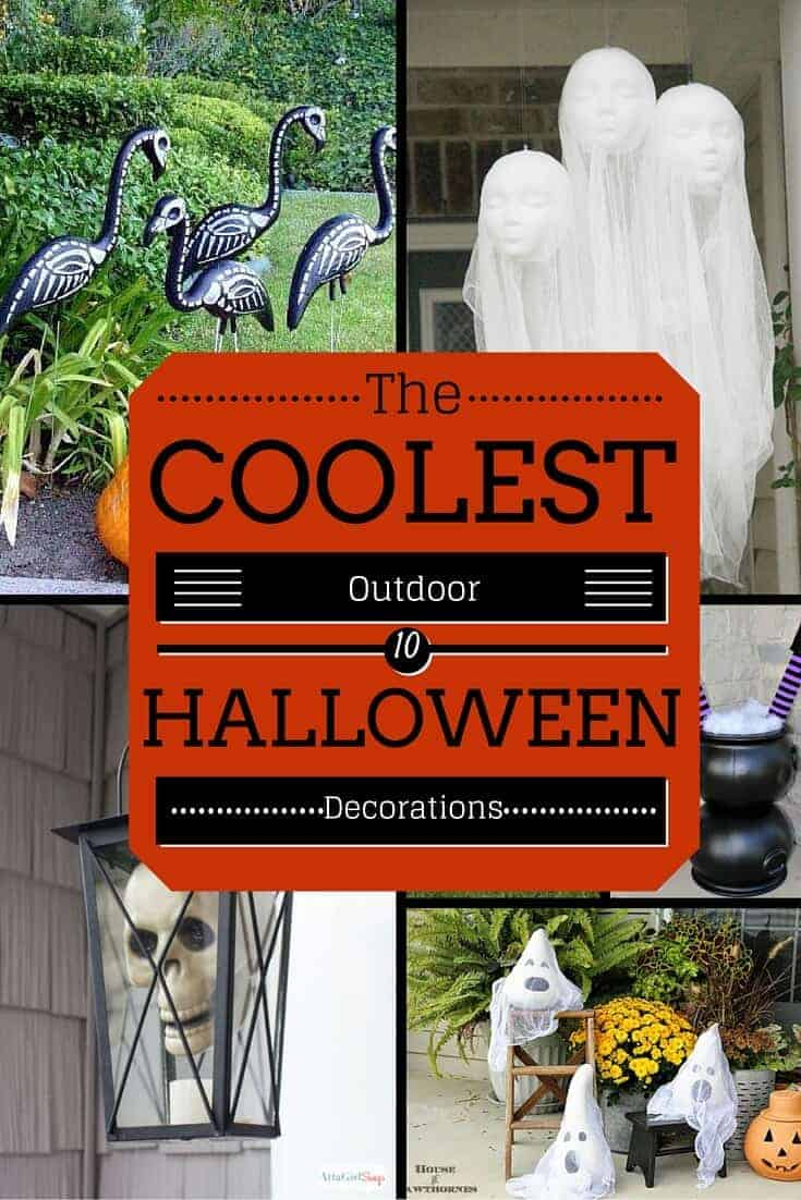 The Coolest Outdoor Halloween Decorations