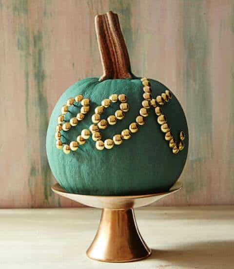 Thumbtack Pumpkin via Country Living