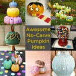 awesome no carve pumpkin ideas featured