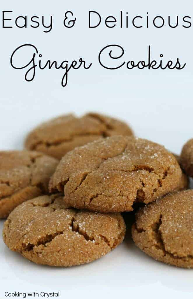 easy and delicious ginger cookies